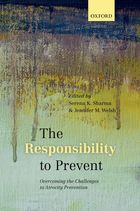 The Responsibility to Prevent_Book Cover